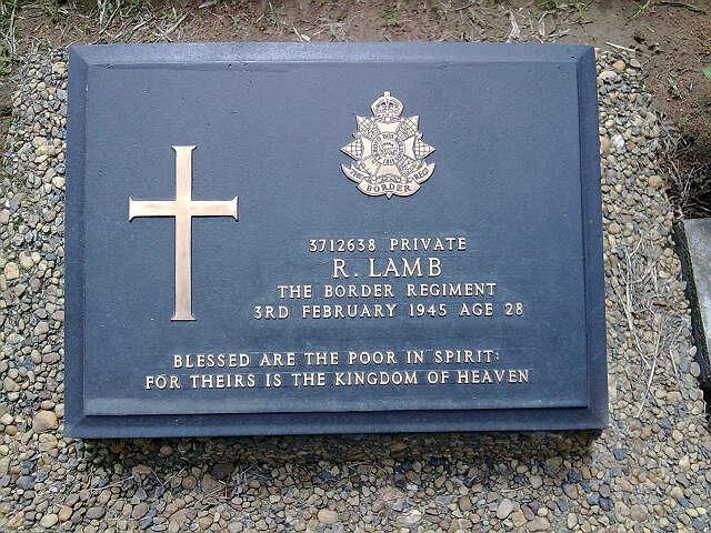 参观仰光外国士兵战殁者墓地有感 - 伊水南流 - 缅华同侨之家