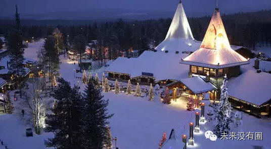 """世界上最大的""""圣诞主题乐园""""可能在中国成都"""