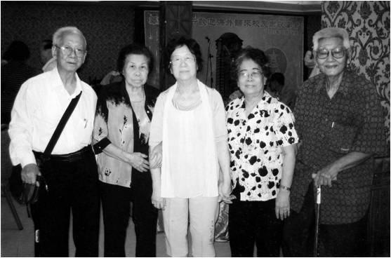 老同事重聚首:林芳彦,曾玛瑙,曾柳枝,杜美华,陈清贵图片