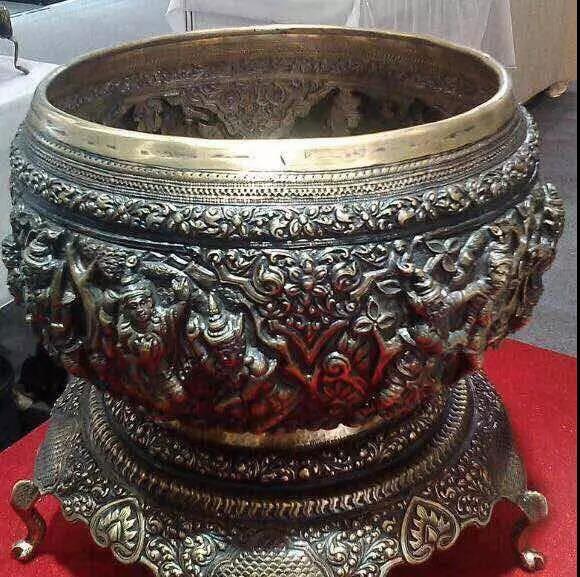 缅甸顶级手工艺品制作过程