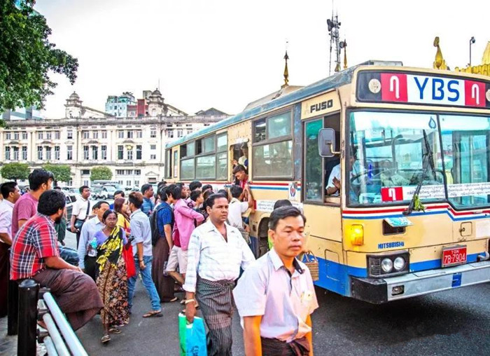 缅甸共享出租车将重新登入市场 服务特定线路