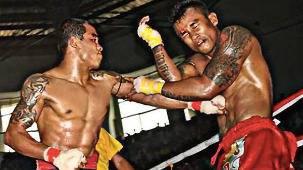 缅甸传统拳击 Let Hway.