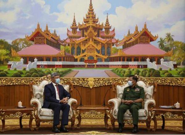 缅甸国防军总司令:支持中国政府在台港疆藏等问题上的立场