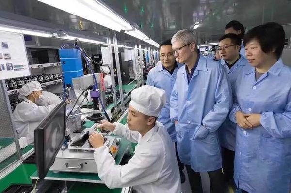 """大陆首家iPhone代工厂即将诞生,""""震惊""""郭台铭"""