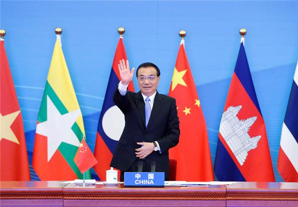 李克强出席澜沧江—湄公河合作第三次领导人会议