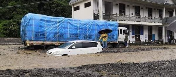 <b>克钦邦连降暴雨,甘拜多个中缅贸易通道被迫瘫痪</b>
