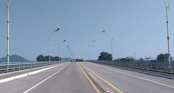 泰缅2号友谊大桥9月3日起车辆只允许一名司机通行