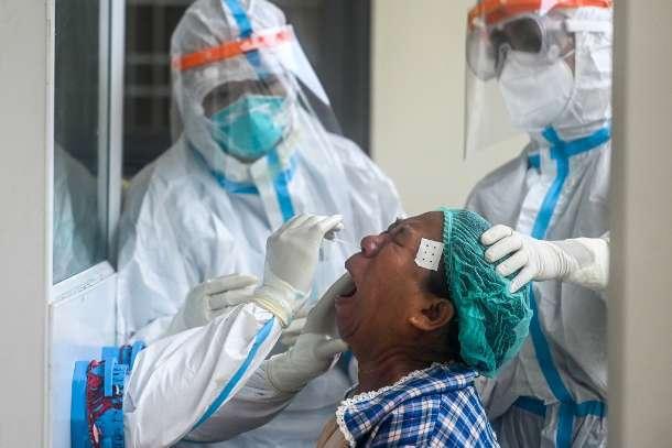 缅甸新冠疫情死亡人数已达321人 确诊者人数达到14383人