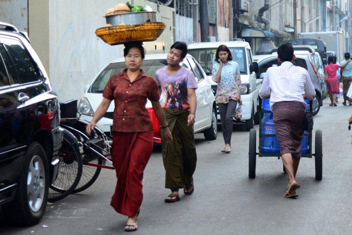 缅甸——仰光市场两三谈