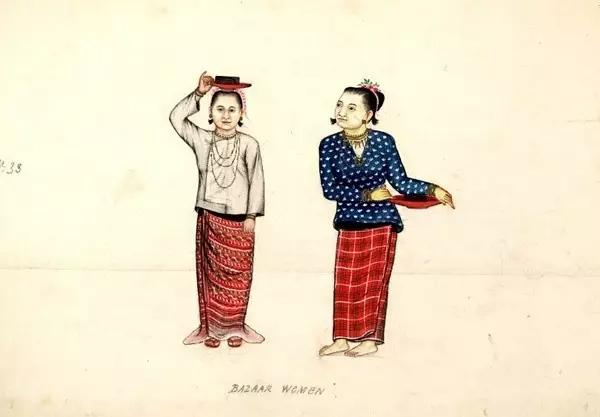 手绘图:19世纪的缅甸生活