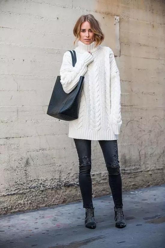 初春毛衣的10种搭配,怎么穿都好看!