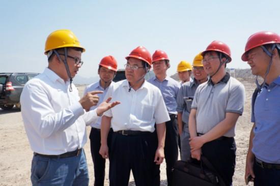 中国安徽省相关单位考察缅甸海螺水泥厂
