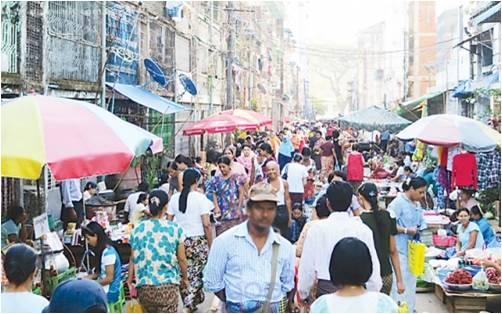 缅最新人口统计 10月1日达到53390000人