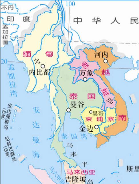 人口仅为6百多万,地少山多的内陆小国——-缅甸评论家莫亨 老挝为什