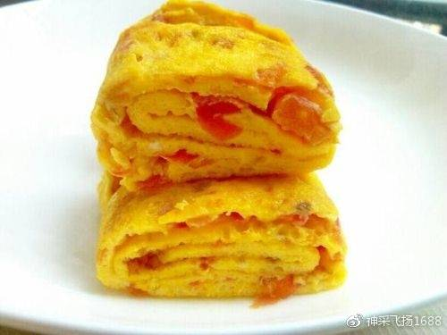 番茄鸡蛋饼的做法 超美味超营养