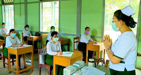 缅甸学校复课将有四种时间模式选择