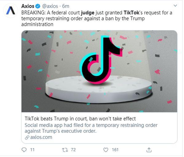 美一法院叫停特朗普禁令