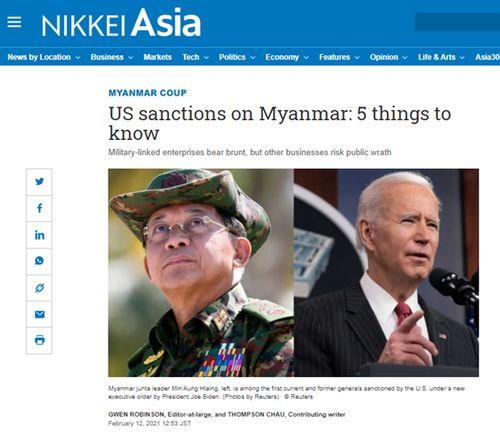 外文译‖ 如何理解美国对缅甸制裁?