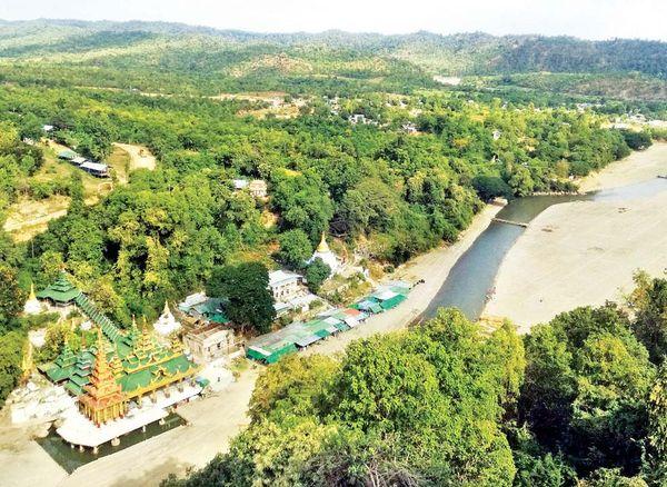 马奎省敏巫—斯固县区的瑞射陶地区将大力开发旅游业工作