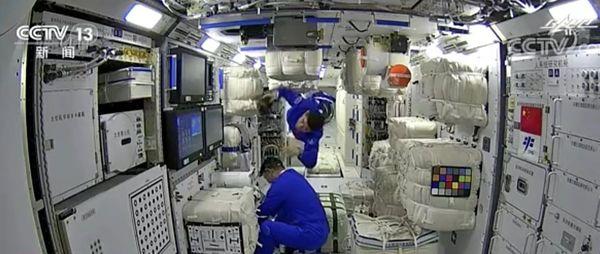 骄傲!中国人首次进入自己的空间站