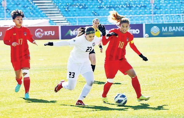 缅甸女足在亚洲杯小组赛中三战三捷获得晋级参加亚洲杯决赛